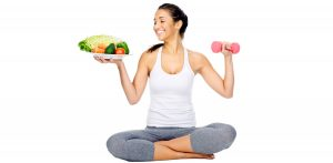 Stay healthy wth diet and exercise