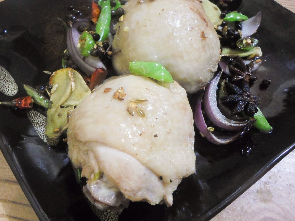 Spicy Poached Chicken Recipe
