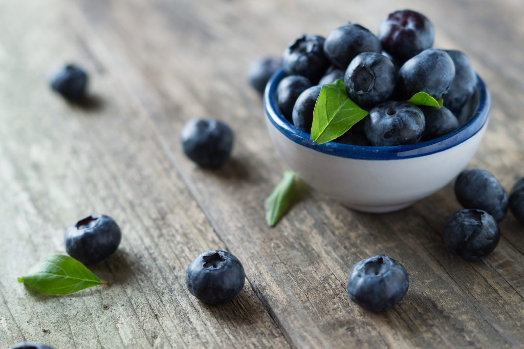 Fill Up On Blueberries This New Year